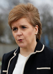 """File photo dated 17/04/18 of First Minister of Scotland Nicola Sturgeon who has said UK Government proposals to resolve the dispute over post-Brexit powers make a """"mockery of consensus"""" and would """"completely demolish"""" the principle of the devolution settlement."""