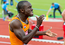 07-07-2016 NED: European Athletics Championships, Amsterdam<br /> Solomon Bockarie NED plaats zich voor de Olympische Spelen in Rio