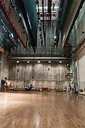 backstage in Meany Hall auditorium, University of Washington, Seattle, Washington, USA