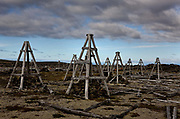 Near Keflavik International Airport on the Reykjanes peninsula, is a dramatic lunar type lava landscape. In the middle of this stands a deserted bombing practice field.