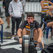 Race 21 500mtr U17<br /> <br /> www.rowingcelebration.com Competing on Concept 2 ergometers at the 2018 NZ Indoor Rowing Championships. Avanti Drome, Cambridge,  Saturday 24 November 2018 © Copyright photo Steve McArthur / @RowingCelebration