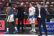 Bushati Franko, Moss David e Cancellieri Massimo, EA7 Emporio Armani Milano vs Germani Basket Brescia - 12 giornata Campionato LBA 2017/2018, Milano Mediolanum Forum 26 dicembre 2017 - foto BERTANI/Ciamillo