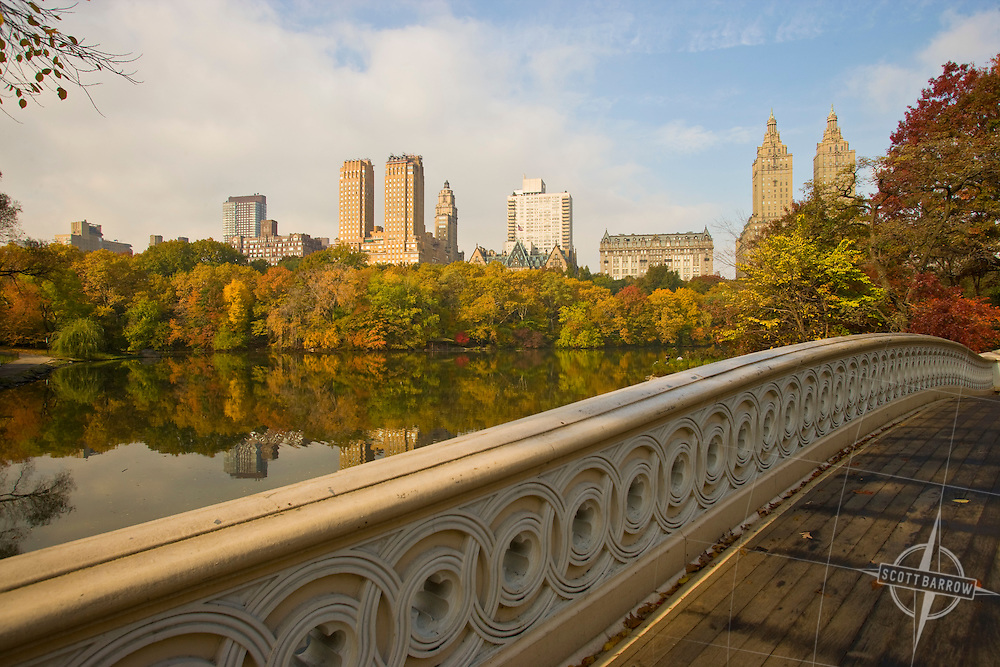 Bow Bridge, Central Park Lake