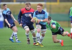 Bristol Academy player warm-up - Mandatory by-line: Paul Knight/JMP - 07/01/2017 - RUGBY - SGS Wise Campus - Bristol, England - Bristol Academy U18 v Exeter Chiefs U18 - Premiership U18 League