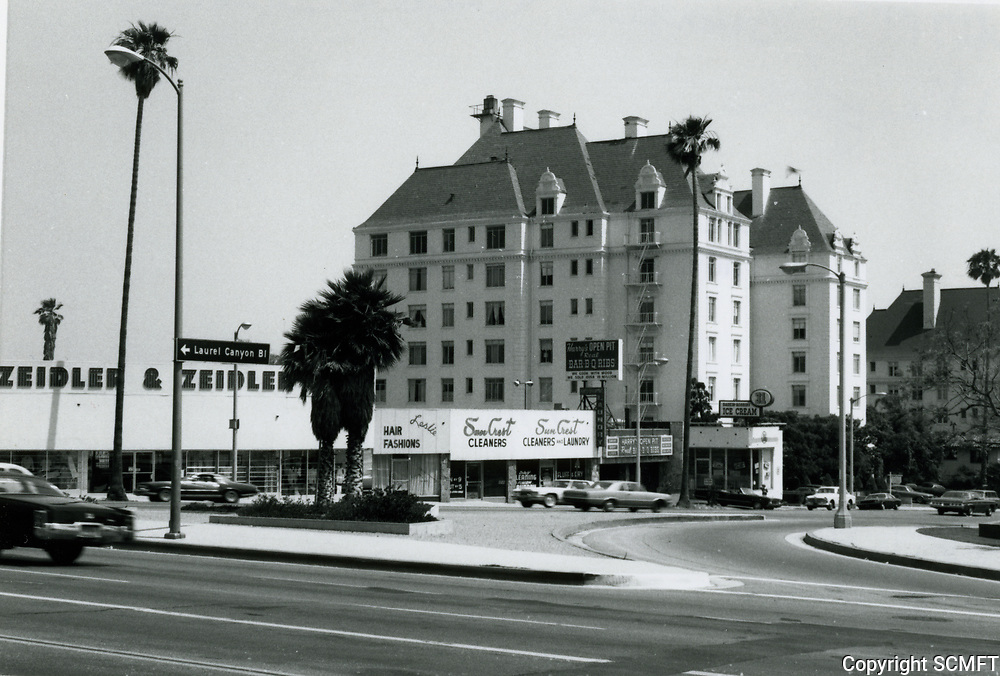 1973 Granville Towers on Crescent Heights Blvd., just south of Sunset Blvd.