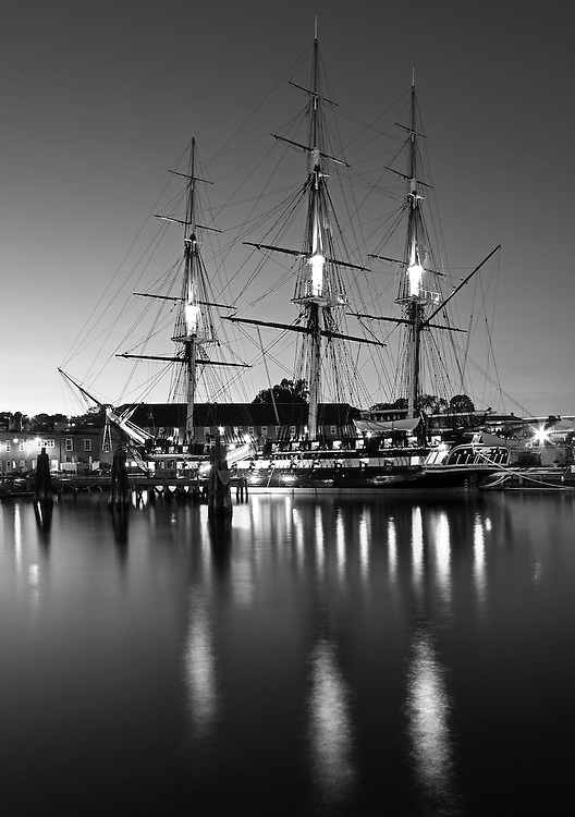 Photo prints, canvas prints, metal prints, framed prints, matted prints, print only at <br /> <br /> http://juergen-roth.pixels.com/featured/uss-constitution-boston-juergen-roth.html