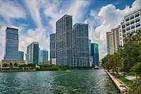 Icon Brickell Towers (center), Brickell
