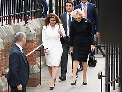 © Licensed to London News Pictures. 26/02/2020. London, UK. PRINCESS HAYA BINT AL HUSSEIN is arriving at the Court of Appeal in London with her legal representative Baroness Fiona Shackleton where Sheikh Mohammed bin Rashid Al Maktoum and his wife Princess Haya Bint Al Hussein are in legal dispute over custody of their children. Princess Haya Bint Al Hussein has applied for a protection order and is seeking wardship of her children. Photo credit: Ben Cawthra/LNP
