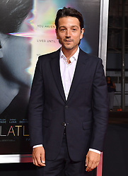"""World Premiere of """"Flatliners"""". The Theatre at Ace Hotel, Los Angeles, California. EVENT September 27, 2017. 27 Sep 2017 Pictured: Diego Luna. Photo credit: AXELLE/BAUER-GRIFFIN / MEGA TheMegaAgency.com +1 888 505 6342"""