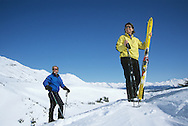 Skagway Summit Telemark Skiing