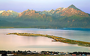 Alaska, Homer Spit, Sunrise, Skyline Drive Overview