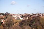 New housing on urban rural fringe, Belstead, Ipswich, Suffolk
