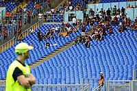 Sciopero Tifosi Roma. AS Roma supporters strike <br /> Roma 20-09-2015 Stadio Olimpico Football Calcio Serie A 2015/2016 AS Roma - Sassuolo Foto Andrea Staccioli / Insidefoto