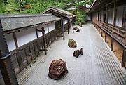 Japanese garden Mount Koya (Koya San), Japan