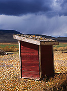 Outhouse in Antimony, Utah.