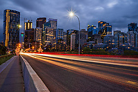 Calgary Skyline & Centre Street
