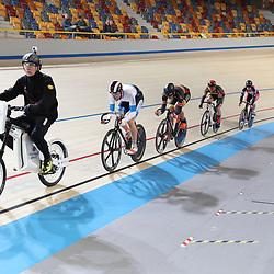 18-12-2016: Wielrennen: NK baanwielrennen: Apeldoorn  <br />Keirin Kwalificatie serie 3