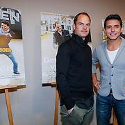 NLD/Volendam/20130208 - Presentatie Helden 17, Jan Smit en Frank de Boer