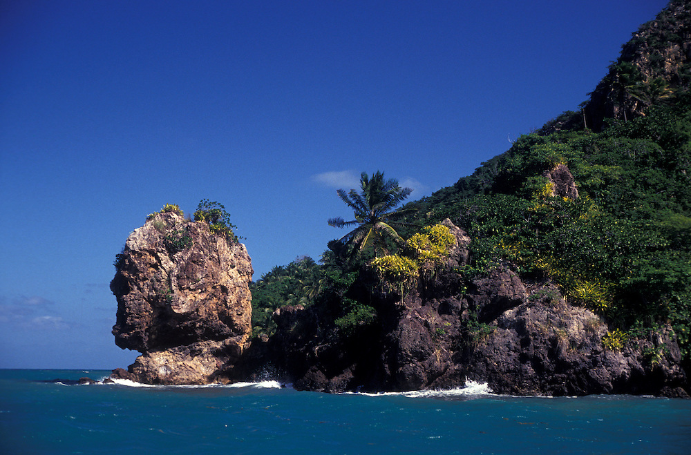 Morgan's Head (La Cabeza de morgan), Providencia Island, Colombian Carribean