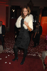 TRINNY WOODALL at a party to celebrate the launch of the 'Inde Mysterieuse' jewellery collection held at Lancaster House, London SW1 on 19th September 2007.<br />