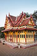 Hua Hin train station, Thailand. Eastern & Oriental Train