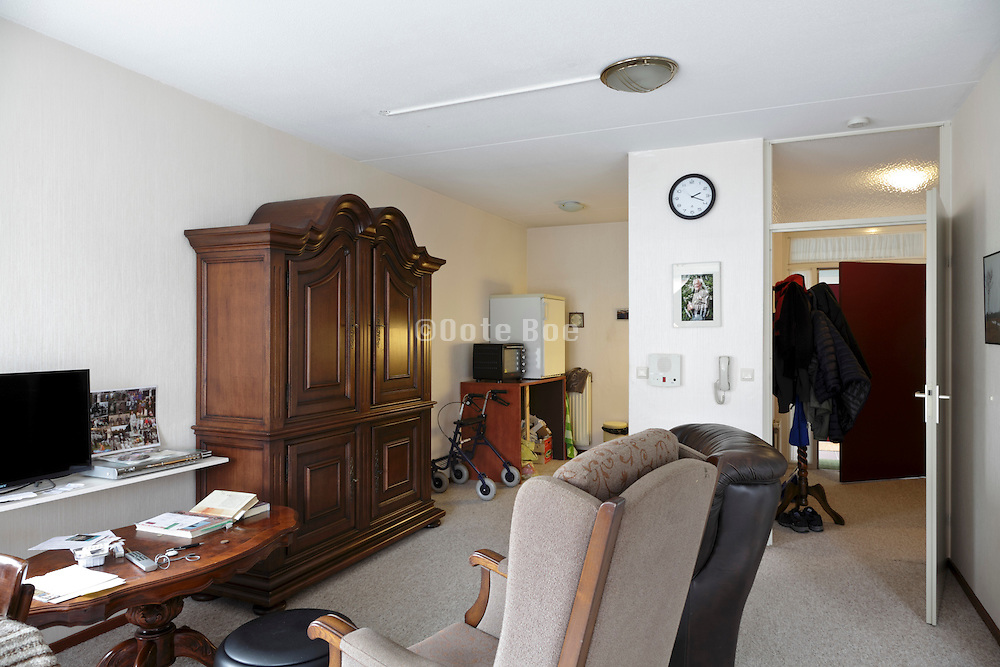 room in an for the elderly independent living retirement home Holland