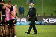 Warren Gatland Chiefs coach. Waratahs vs Chiefs. Super Rugby round 6 match played at WIN Stadium, Wollongong NSW on Friday 6 March 2020. Photo Clay Cross / photosport.nz