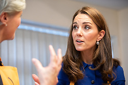 The Duchess of Cambridge during a visit to Centrepoint in Barnsley.