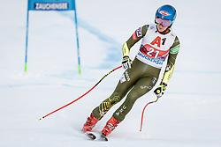 12.01.2020, Keelberloch Rennstrecke, Altenmark, AUT, FIS Weltcup Ski Alpin, Alpine Kombination, Super G, Damen, im Bild Mikaela Shiffrin (USA) // Mikaela Shiffrin of the USA (DNF) during the women's Alpine combined SuperG competition for the FIS ski alpine world cup at the Keelberloch Rennstrecke in Altenmark, Austria on 2020/01/12. EXPA Pictures © 2020, PhotoCredit: EXPA/ Johann Groder