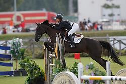 Jimenez-Carmona Gonzales Paloma, ESP, Sherie Star<br /> Young Riders European Championships Jumping <br /> Samorin 2017© Hippo Foto - Dirk Caremans<br /> 11/08/2017