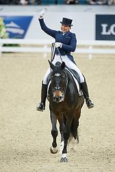 Merkulova Inessa, (RUS), Mister X<br /> Grand Prix<br /> Reem Acra FEI World Cup Dressage - Goteborg 2016<br /> © Hippo Foto - Dirk Caremans<br /> 25/03/16