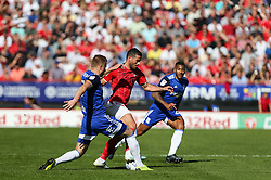 Tomer Hemed of Charlton Athletic runs at the Birmingham defence - Mandatory by-line: Arron Gent/JMP - 14/09/2019 - FOOTBALL - The Valley - Charlton, London, England - Charlton Athletic v Birmingham City - Sky Bet Championship
