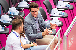PORTOROZ, SLOVENIA - SEPTEMBER 18: Gregor Krusic during the double finals of WTA 250 Zavarovalnica Sava Portoroz at SRC Marina, on September 19, 2021 in Portoroz / Portorose, Slovenia. Photo by Nik Moder / Sportida