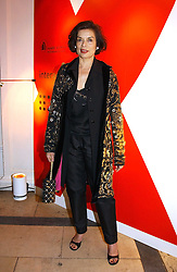 A party hosted by Mario Testino, Bianca Jagger and Kenneth Cole in collaboration with UNFPA and Marie Stopes International to celebrate the publication of Women to Woman: Positively Speaking - a book to raise awareness of women living with HIV/Aids, held at The Orangery, Kensington Palace, London on 2nd December 2004.<br />Picture shows:- BIANCA JAGGER.<br /><br />NON EXCLUSIVE - WORLD RIGHTS
