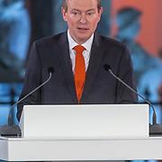 NLD/Den Haag/20180323 - Huldiging Olympische en Paralympische medaillewinnaars, Bruno Bruins, minister voor medische zorg en sport