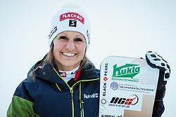 Claudia Riegler (AUT) during parallel slalom FIS Snowboard Alpine World Championships 2021 on March 2nd 2021 on Rogla, Slovenia. Photo by Morgan Kristan / Sportida