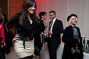DAISY LOWE; JAMIE WINSTONE;   English National Ballet launches its Christmas season with a partyu before s performance of The Nutcracker at the Coliseum.  St. Martin's Lane Hotel.  London. 16 December 2009 *** Local Caption *** -DO NOT ARCHIVE-© Copyright Photograph by Dafydd Jones. 248 Clapham Rd. London SW9 0PZ. Tel 0207 820 0771. www.dafjones.com.<br /> DAISY LOWE; JAMIE WINSTONE;   English National Ballet launches its Christmas season with a partyu before s performance of The Nutcracker at the Coliseum.  St. Martin's Lane Hotel.  London. 16 December 2009