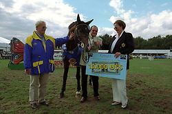 Leon Melchior, Nissan Caretano Z, Melchior Judy Ann<br /> Wolrd Championship Young Horses Lanaken 1999<br /> © Hippo Foto - Dirk Caremans