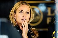 JORDA Carmen lotus f1 gp development driver ambiance portrait during 2015 Formula 1 championship at Melbourne, Australia Grand Prix, from March 13th to 15th. Photo DPPI / Eric Vargiolu.