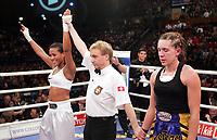 Ksenija Koprek (KRO) verliert  gegen Cecilia Braekhus (NOR). © Valeriano Di Domenico/EQ Images