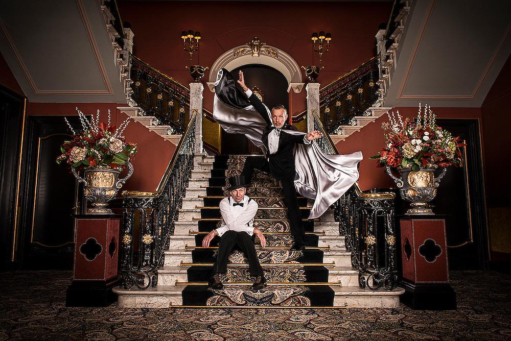 Portrait | Rinus Sprong & Thom Stuart | Dans in Den Haag | Hotel des Indes