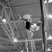 Date: 3/29/08.Desk: NAT.Slug: aging$500.Assign Id: 30081997A..A masters competitor competes in the pole vault at the 2008 USA Masters Indoor Track & Field Championships at the Reggie Lewis Track & Athletic Center in Boston, Massachusetts on March 29, 2008...Photo by Angela Jimenez for The New York Times .photographer contact 917-586-0916