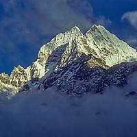 Mount Thamserku in the Khumbu region of Nepal's Himalaya.