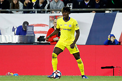 May 15, 2019 - Foxborough, MA, U.S. - FOXBOROUGH, MA - MAY 15: Chelsea FC midfielder Trevoh Chalobah (14) during the Final Whistle on Hate match between the New England Revolution and Chelsea Football Club on May 15, 2019, at Gillette Stadium in Foxborough, Massachusetts. (Photo by Fred Kfoury III/Icon Sportswire) (Credit Image: © Fred Kfoury Iii/Icon SMI via ZUMA Press)