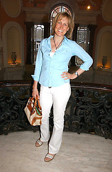 SANTA SEBAG-MONTEFIORE at a party to celebrate the publication of 'A Much Married Man' by Nicholas Coleridge held at the ESU, Dartmouth House,  37 Charles Street, London W1 on 4th May 2006.<br />