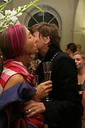 "Silvia Ziranek and Mrs. Richard Strange, Bell and Langlands ""Superactivei2i"" Somersett House. London. 6 September 2007. .-DO NOT ARCHIVE-© Copyright Photograph by Dafydd Jones. 248 Clapham Rd. London SW9 0PZ. Tel 0207 820 0771. www.dafjones.com."