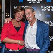 NLD/Amsterdam/20191125 - Boekpresentatie Victor Mids, Hans Kazan met partner Wendy