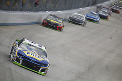 October 7, 2018 - Dover, Delaware, United States of America - Chase Elliott (9) battles for position during the Gander Outdoors 400 at Dover International Speedway in Dover, Delaware. (Credit Image: © Justin R. Noe Asp Inc/ASP via ZUMA Wire)