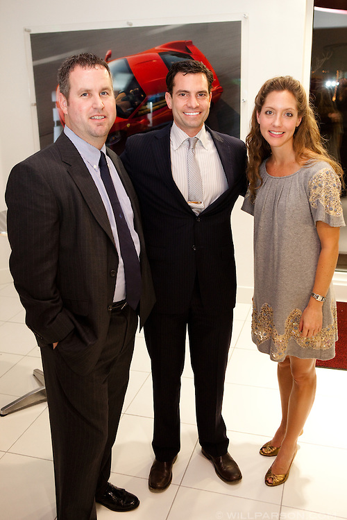 Jack Clarke, Matt Weiss and Nani Gadd.