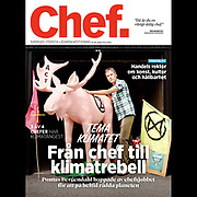 Cover of the magazine Chef 2021.<br /> Photo by Ola Torkelsson ©